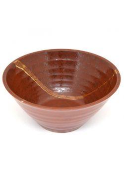 Ayatori ramen bowl red