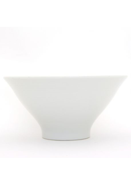 Porcelain ramen bowl white