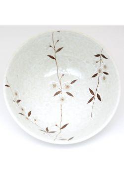 White sakura bowl very big
