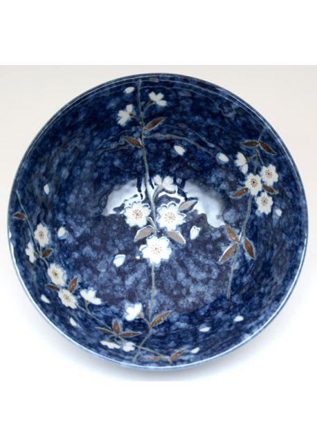 Navy sakura bowl very big