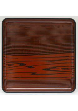 Taca kwadratowa brązowa mokusei