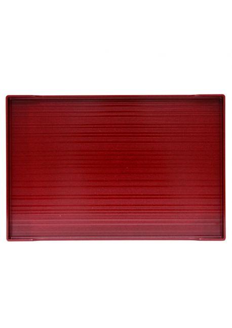 Burgundy tray