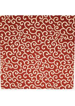 Furoshiki karakusa czerwona