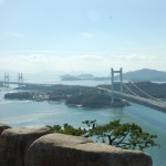Most Seto ohashi - widok z góry Washuzan