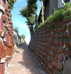 Tokoname - uliczka ceramiczna