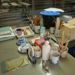 Akcesoria do malowania porcelany