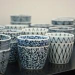 Klasyczne porcelanowe czarki w niebieskie wzory