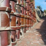 Mury z cermicznych rur