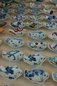 Ręcznie malowane talerzyki - każdy w inne wzory