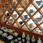 Jedna z galerii ceramicznych w Akaike / Fukuchi