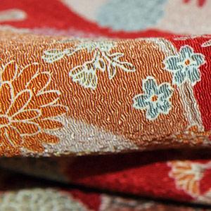 japońskie tkaniny chirimen